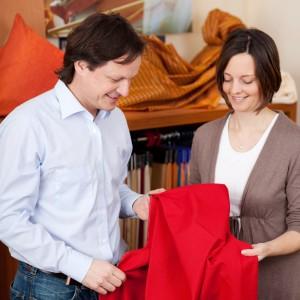 Beratung und Garantie. Textilien vom Fachgeschäft